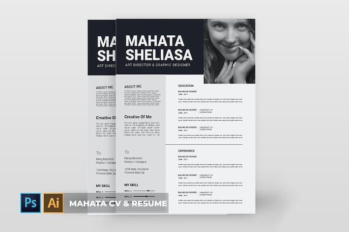 Thumbnail for Mahata | CV & Resume