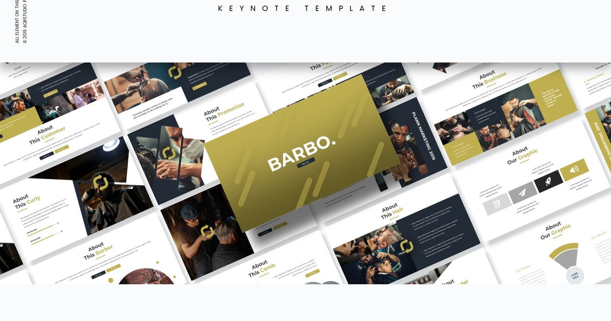 Download Barbo - Keynote Template by aqrstudio