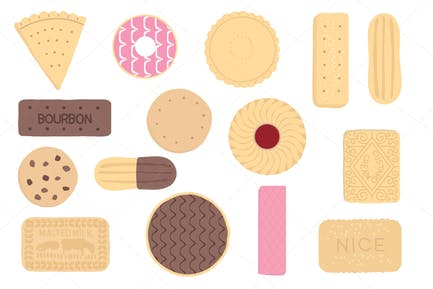 Kekse und Kekse