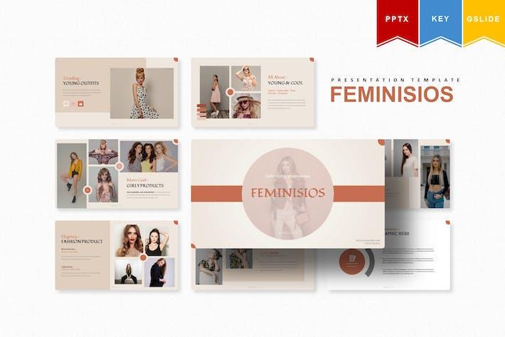 Feminisios   Powerpoint, Keynote, Googleslide