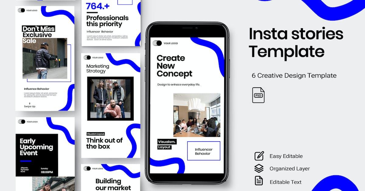 Download Drian - Stories Instagram Template by DensCreativeStudio