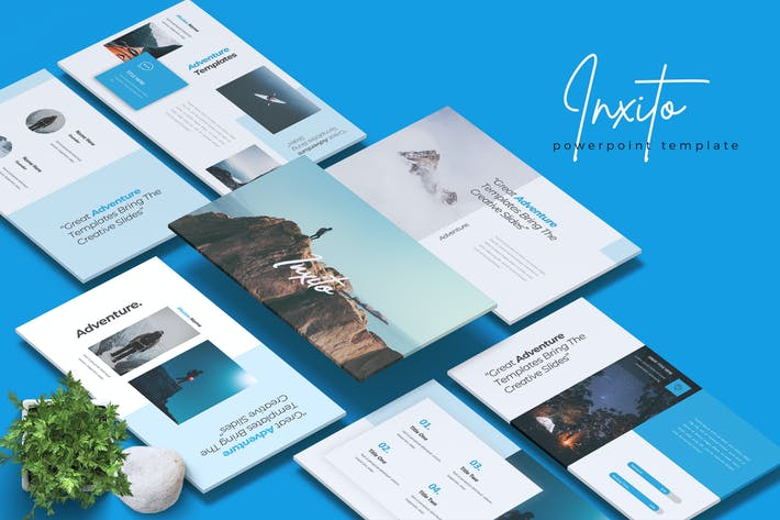 Thumbnail for INXITO - Adventure Powerpoint Template