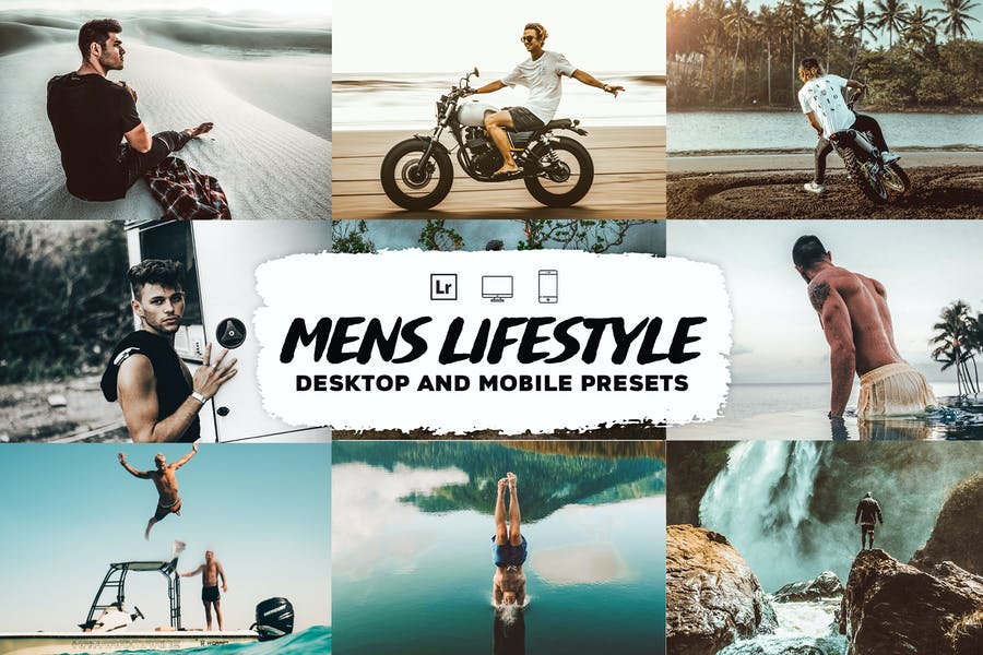 Mens Lifestyle Lightroom Presets