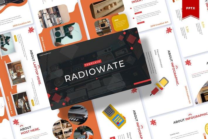 Thumbnail for Radiowate | Шаблон Powerpoint