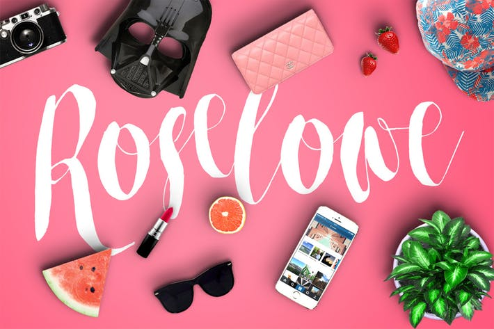 Thumbnail for Roselowe Typeface