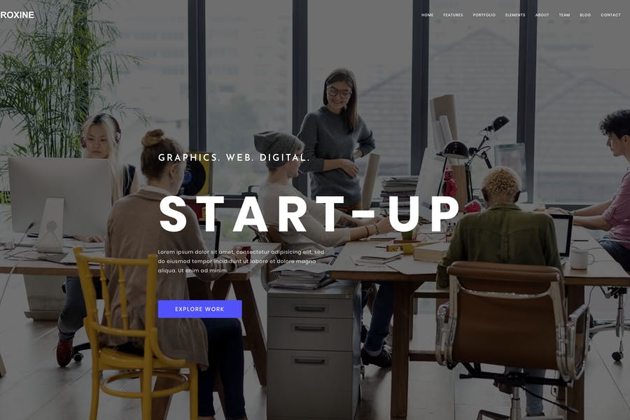 Corporate MultiPurpose HTML Template for Business
