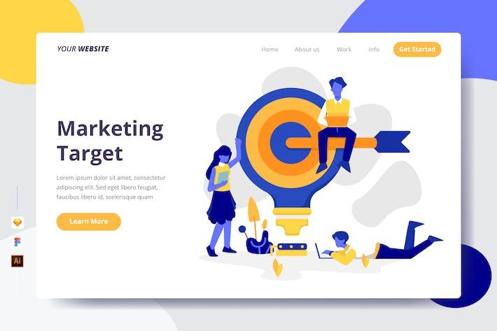 Marketingziel - Zielseite