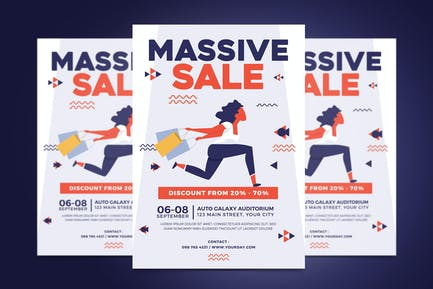 Massive Sale Flyer