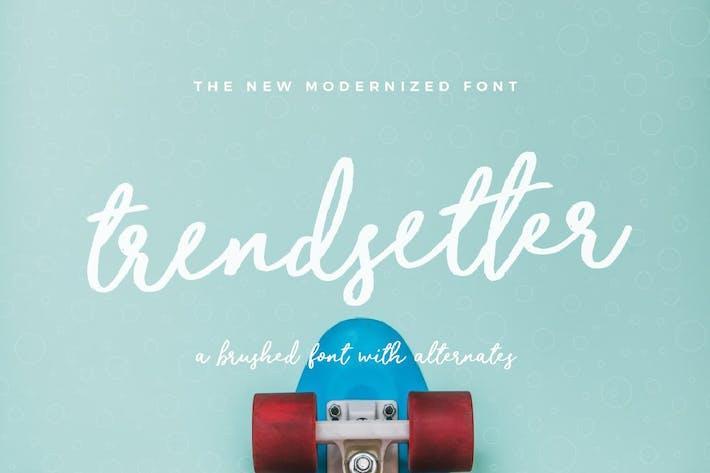 Thumbnail for Trendsetter Font