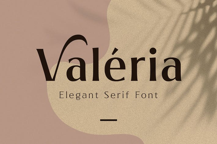 Thumbnail for Valeria - Elegant Serif