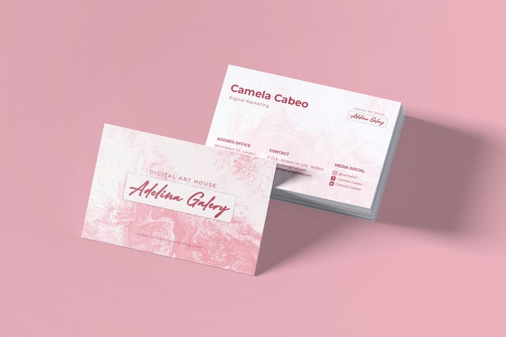 Thumbnail for Adelina Galery Business Card