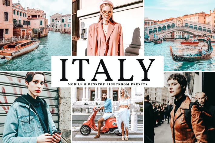Thumbnail for Italy Mobile & Desktop Lightroom Presets
