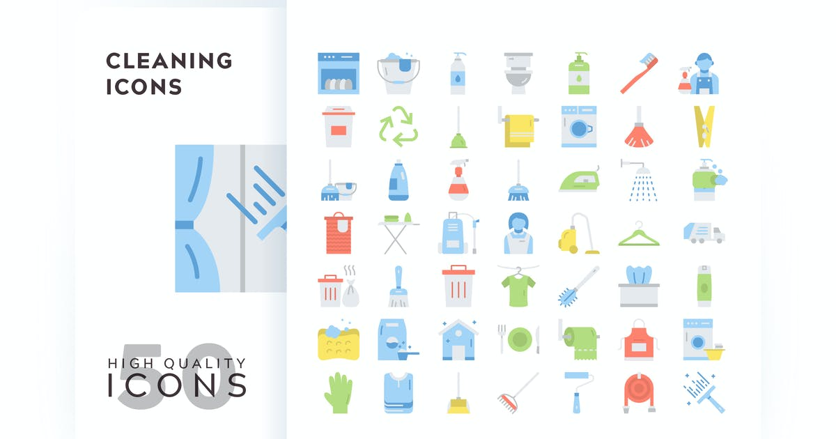 Download CLEANING FLAT COLOR by subqistd