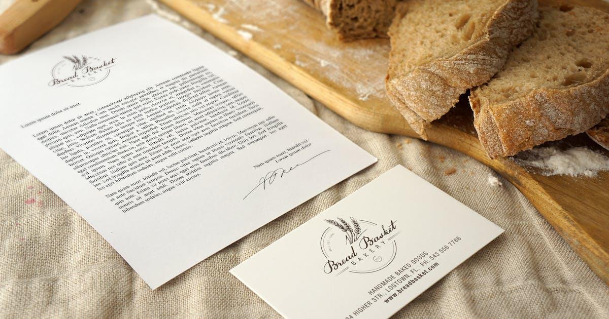 Download Bakery branding Mockup by amris