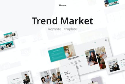 Trend Market 2021 Keynote Presentation Template
