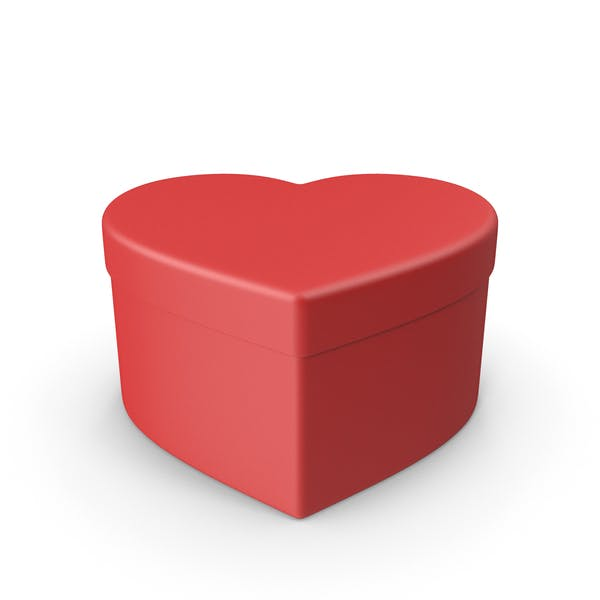 Thumbnail for Valentines Shape Red Gift Box