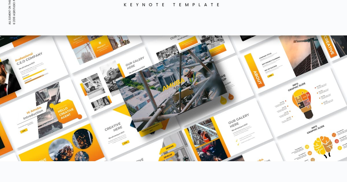 Download Amuba - Keynote Template by aqrstudio