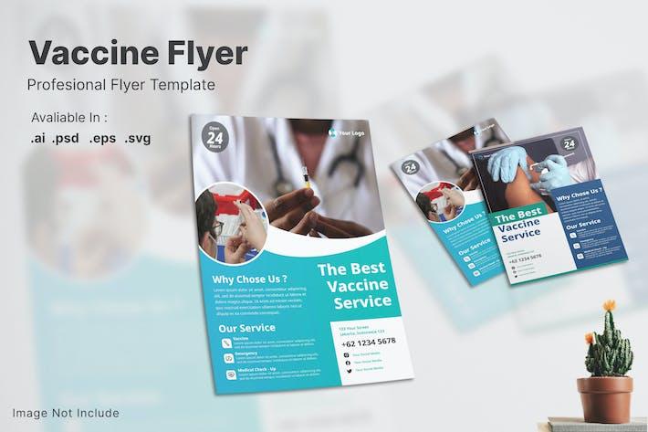 Vaccine & Medicine Flyer
