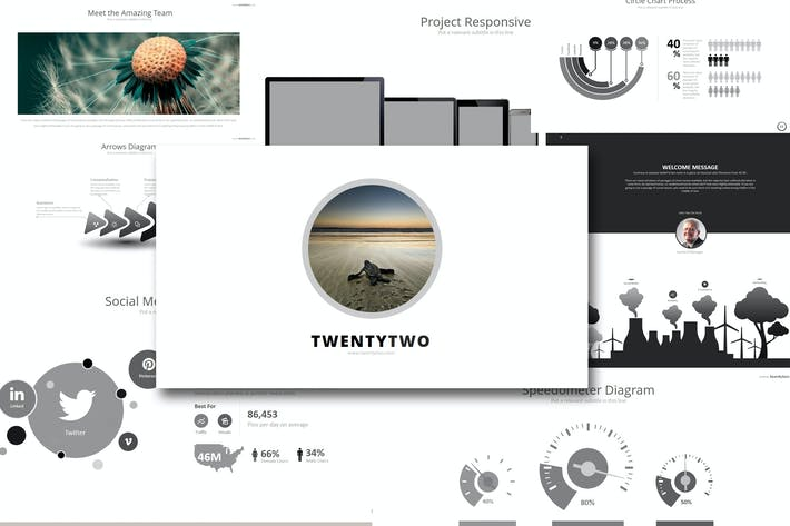 Thumbnail for Fifty 2 - Powerpoint Template