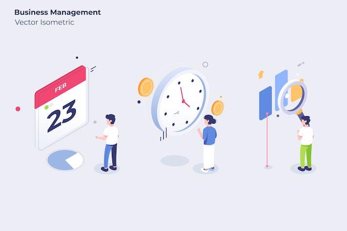 Thumbnail for Business Management - Vector Illustration