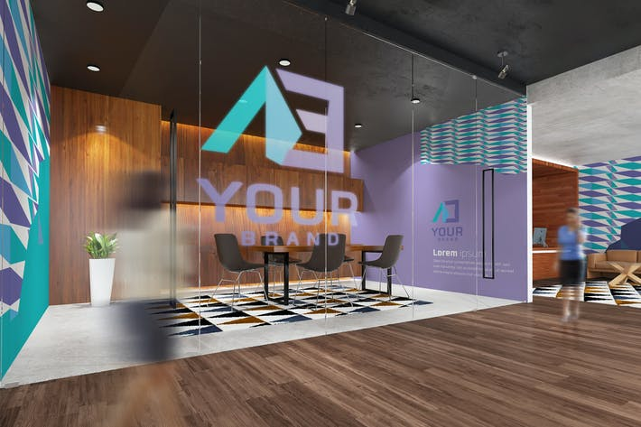 Thumbnail for Office Interior Branding Mockups V3