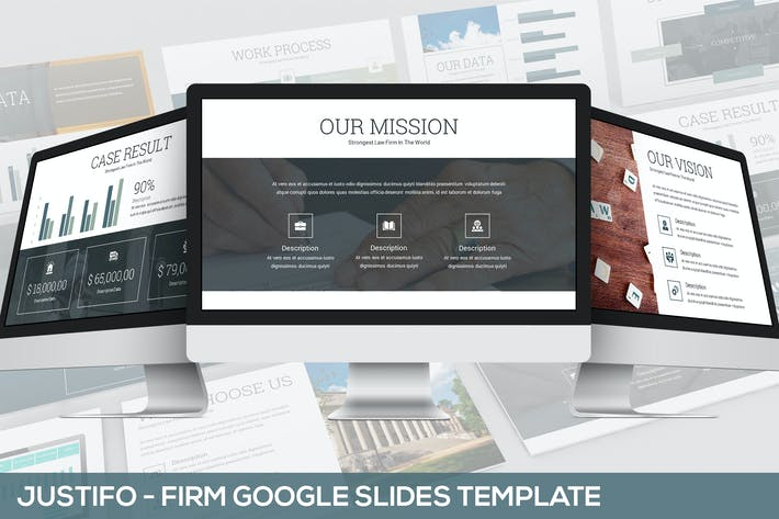 Thumbnail for Justifo - Firm Google Slides Presentation Template