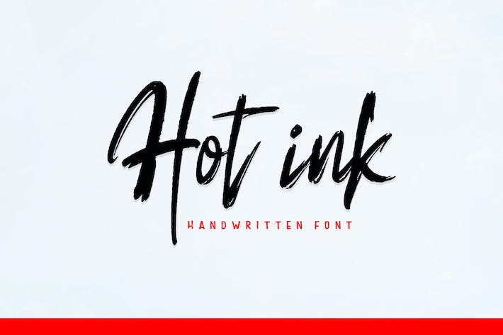 Thumbnail for Hot ink