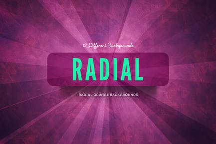 Radial Grunge Backgrounds