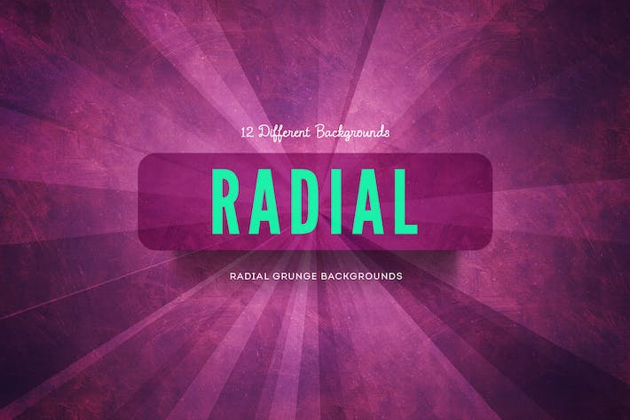 Thumbnail for Radial Grunge Backgrounds