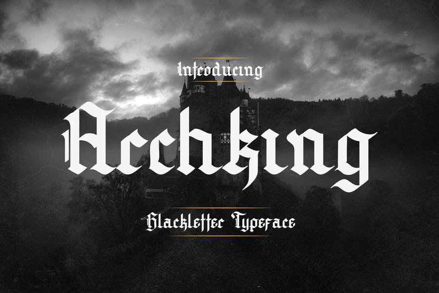 Archking – Blackletter Typeface