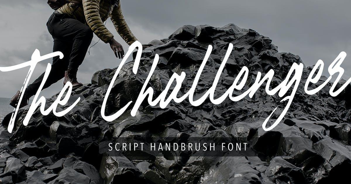 Download The Challenger Script Handbrush Font by naulicrea