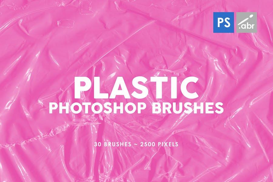 Plastic Photoshop Brushes | 03