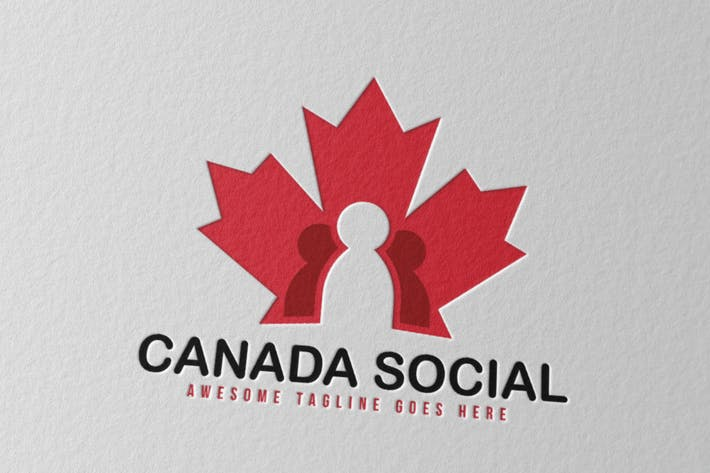 Cover Image For Canada Social Logo