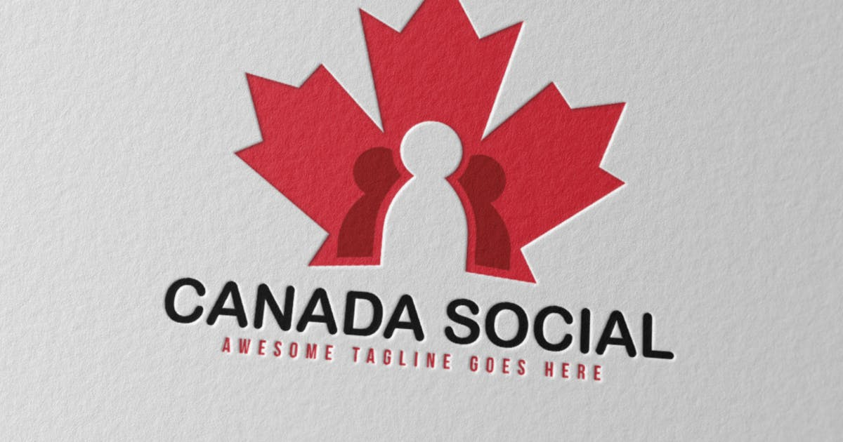 Download Canada Social Logo by Scredeck