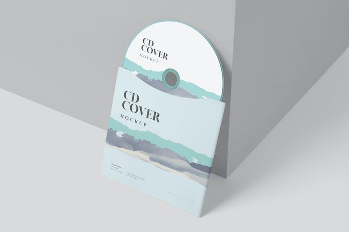 Thumbnail for CD Envelope Mockups