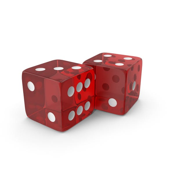 Red Transparent Dice