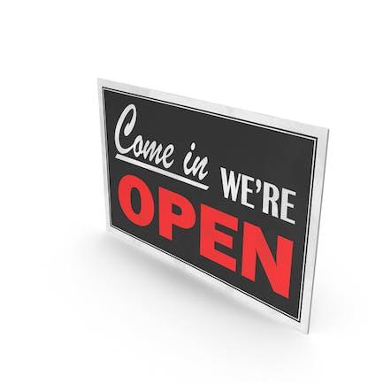 Open-Closed-Schild