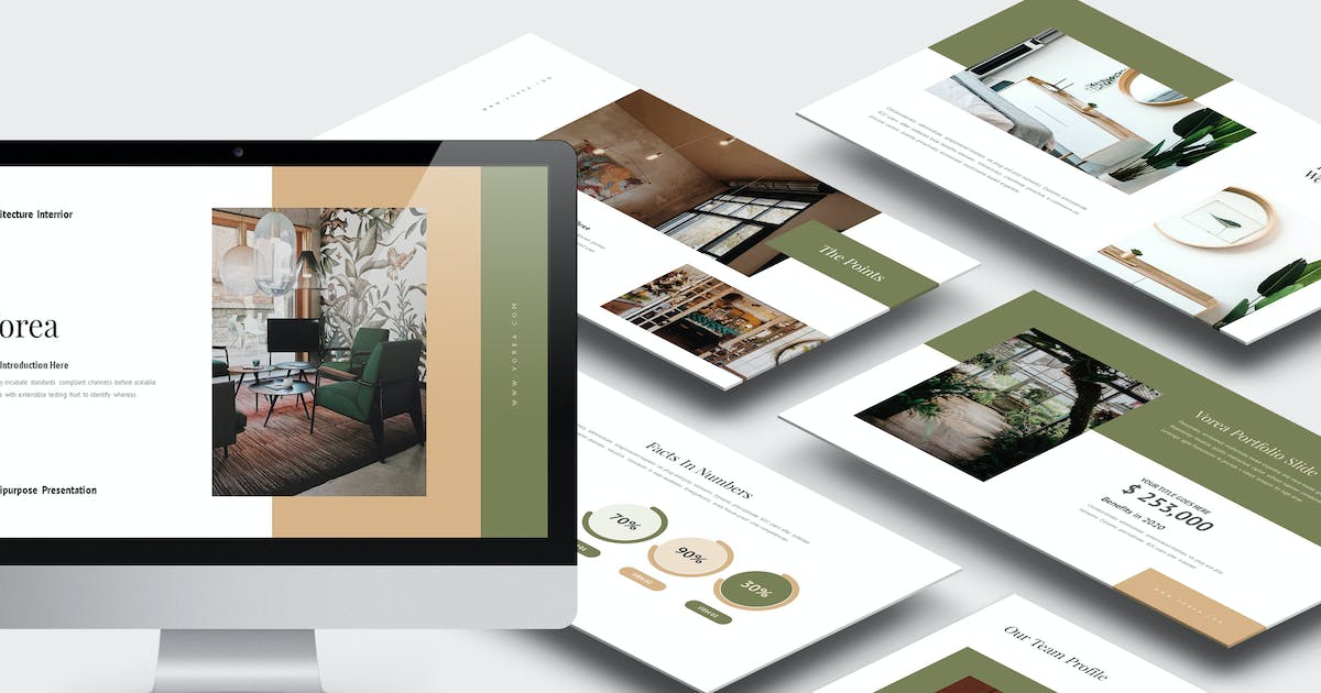 Download Vorea : Home Decor & Interior Business Powerpoint by punkl