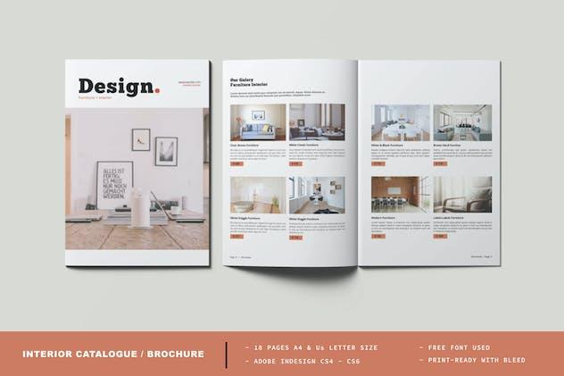Interior Catalogue / Brochure