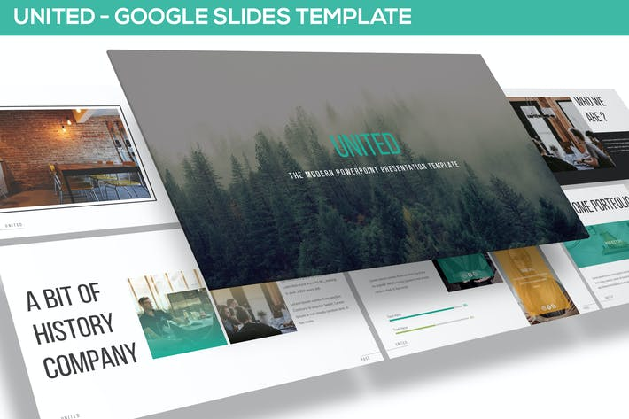 Thumbnail for United - Google Slides Template
