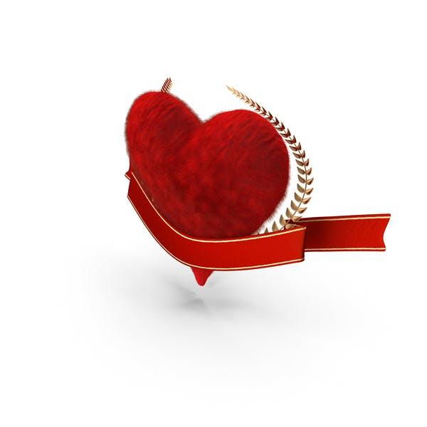 Баннер Сердца Валентина