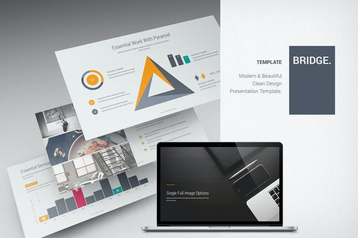 Thumbnail for Bridge Business Template