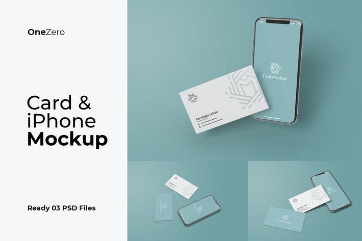 Thumbnail for Karte und iPhone Mockup