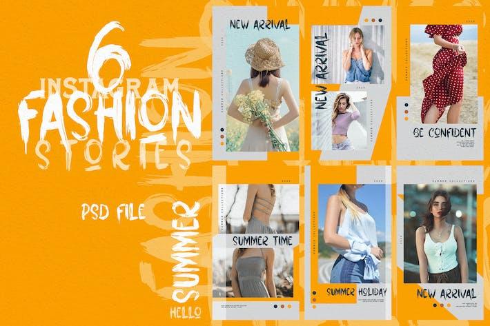 Thumbnail for Orange Fashion Stories