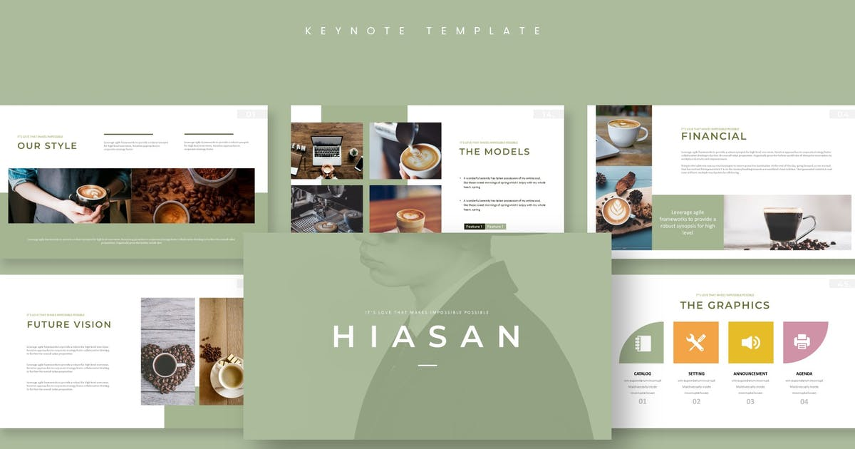 Download Hiasan - Keynote Template by aqrstudio