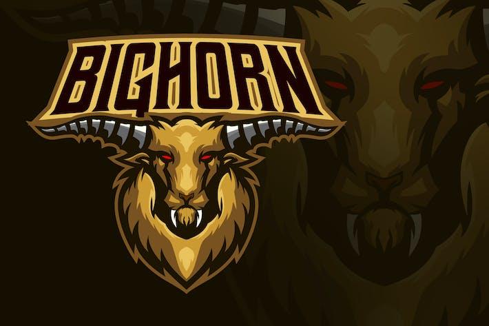 Thumbnail for Evil Ram Goat Esport Logo