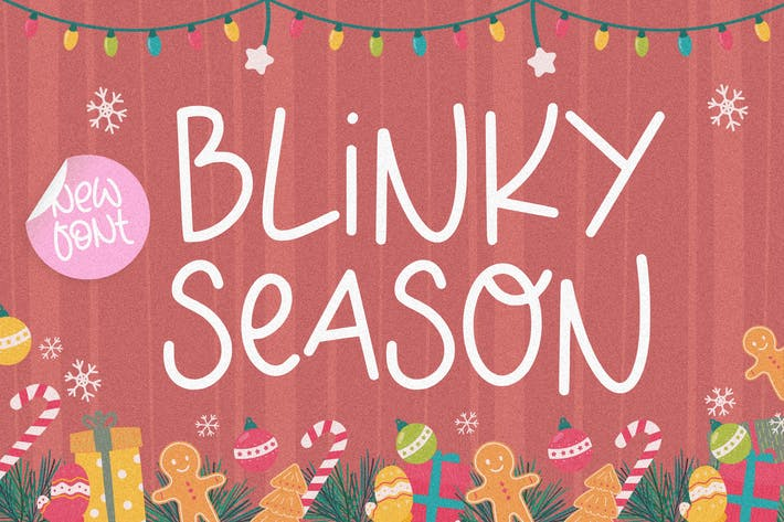 Blinky Season Tipografía YH