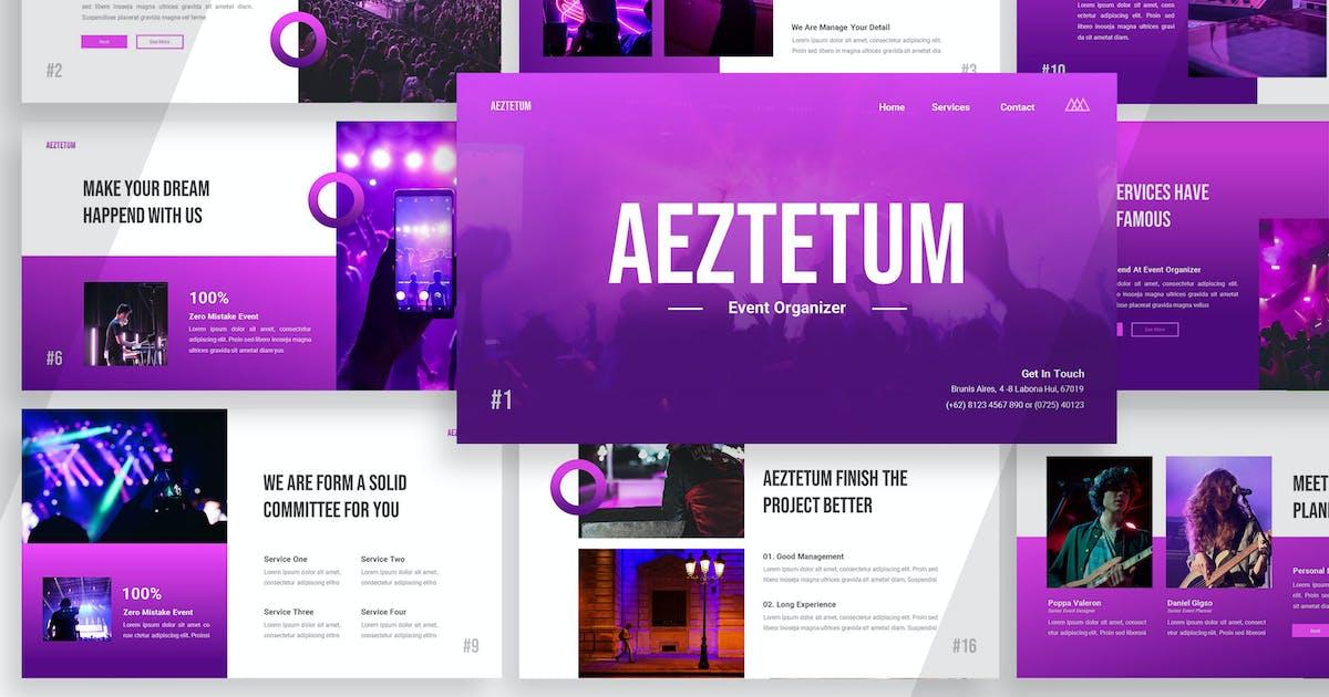 Download Aeztetum Event Organizer - Powerpoint by Haidezign