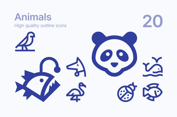 Thumbnail for Animal Icons