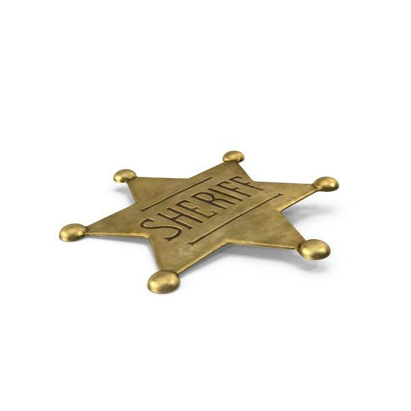 Thumbnail for Western Sheriff Badge